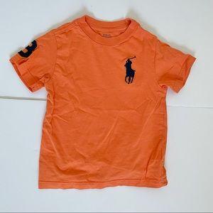 Polo Ralph Lauren T-Shirt Orange Kids